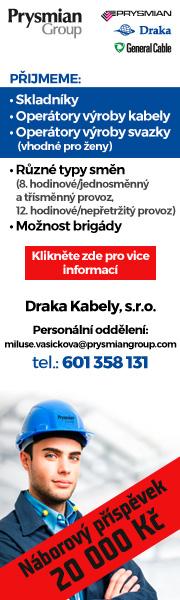 Draka Kabely, s.r.o. přijme nové zaměstnance