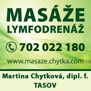 MASÁŽ - Martina Chytková, dipl.f.